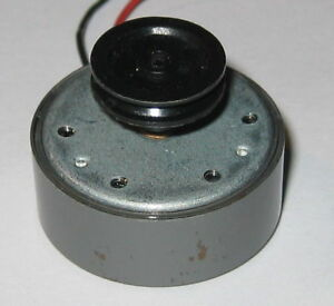 Dc motor with pulley 6v 12400 rpm low current for Electric motor low rpm