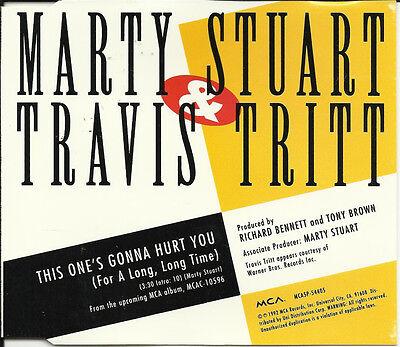 Marty Stuart   Travis Tritt This One S Promo Cd Single