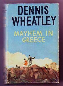 MAYHEM-IN-GREECE-Dennis-Wheatley-1st-Brt-Cold-War