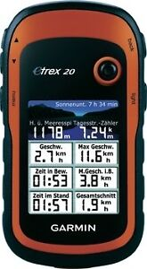 NEW-GARMIN-ETREX-20-Mapping-Handheld-GPS-GLONASS-Waterproof-Geocaching