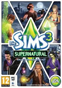 Die Sims 3: Supernatural (PC/Mac, 2012, in DVD-Box)