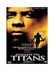Remember the Titans DVDs
