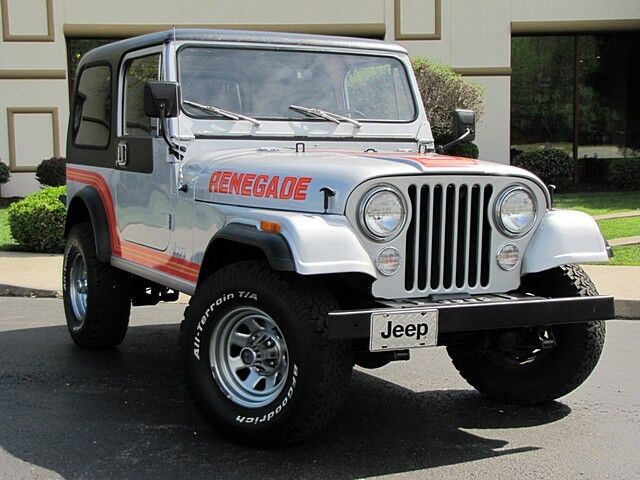 Jeep Renegade Cj 7 New Paint Rebuilt Engine And Trans