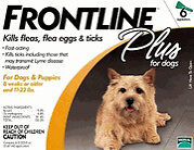 Frontline Plus for Dogs 5 to 22 lbs 6 doses