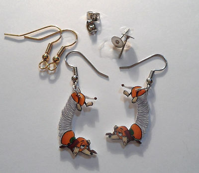 Dachshund Dog Earrings Slinky Dog Toy Story Charms