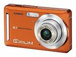 Casio EXILIM ZOOM EX-Z9EO 8.1 MP Digital Camera - Orange