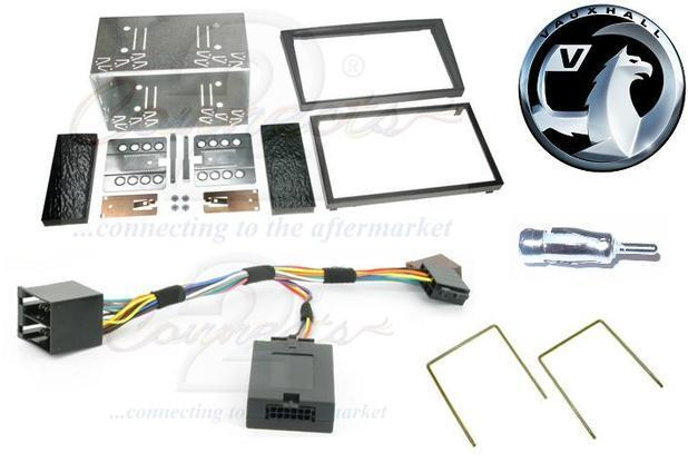 Vauxhall Vivaro Double Din Car Stereo Fitting Kit Facia