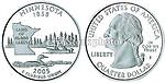Quarter, 2005, Minnesota, 50 State Quart...
