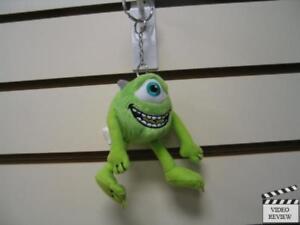 Mike-Monsters-Inc-Plush-Keychain-Metal-Key-Ring