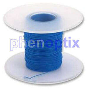 30AWG Fine KYNAR WIRE - Blue - Xbox 360 Wii PS3 Wrapping Modding 5M