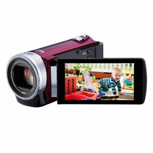 JVC Everio GZ-E205 Camcorder - Red