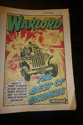WARLORD Comic - Issue 341 - Date 04/04/1981 - UK Paper Comic