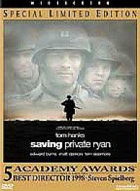 SAVING PRIVATE RYAN - R1 DVD - SPECIAL LIMITED EDITION - TOM HANKS - MATT DAMON