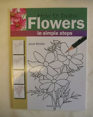 How To Draw Flowers Book Art Simple Steps