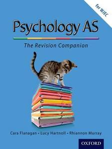 (Good)-The Complete Companions: AS Revision Guide for WJEC Psychology (Paperback