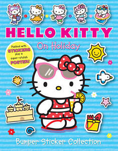 On Holiday Bumper Sticker Collection (Hello Kitty), , New Book