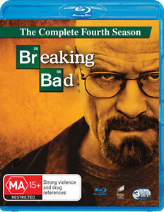 Breaking Bad - Season 4 (Blu-ray, 3 Disc Set) NEW & SEALED Series