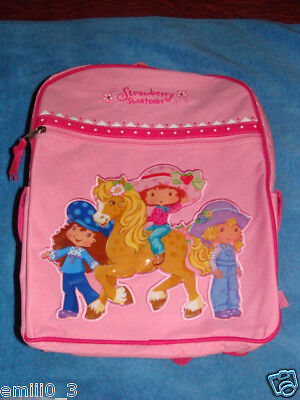 With Tags Strawberry Shortcake Backpack