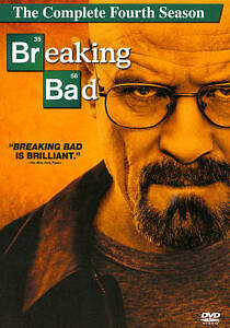 Breaking Bad: The Complete Fourth 4th 4 Season (DVD, 2012, 4-Disc Set) NEW