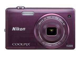 Nikon-COOLPIX-S5200-16-0-MP-Digital-Camera-Plum