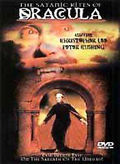 Satanic Rites of Dracula DVD Region 1, NTSC