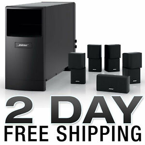 NEW BOSE ACOUSTIMASS 10 SERIES IV SPEAKER SYSTEM BLACK