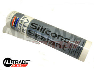 1-x-QUALITY-CLEAR-RTV-SILICONE-SEALANT-310ml-INSTANT-GASKET-HIGH-TEMP-AUTO