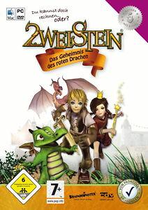 NEU, OVP: 2weistein - Das Geheimnis des roten Drachen (PC/Mac, 2008, Eurobox)