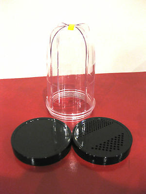 Magic Bullet 1 Tall Cup & 2 Lids Brand No Wait