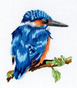 Anchor Freestyle Embroidery Kit - Kingfisher
