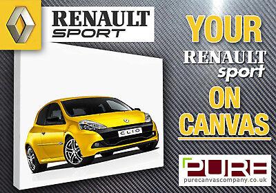 YOUR RENAULT Sport Clio 172 182 200 Megane R26 CANVAS