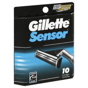 10-Cartridges-Gillette-Sensor-Refills