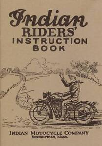 1927-INDIAN-MOTORCYCLE-RIDERS-INSTRUCTION-BOOK