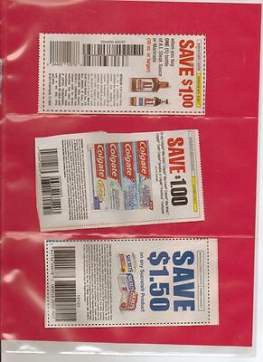 10 COUPON SLEEVES PAGES ORGANIZER STORAGE 3 POCKET
