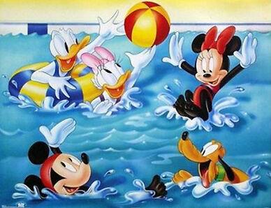Kultfigur seit Jahrzehnten: die Welt von Donald Duck und Micky Maus von Walt Disney