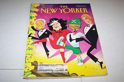 DEC 28 1992 NEW YORKER magazine SPIKE LEE -  DONALD TRUMP