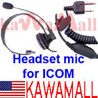 Headset-Boom-Mic-For-MIDLAND-22-540-Radio-75-822-75-785