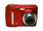 Kodak EASYSHARE C143 12.0 MP Digital Camera - Red