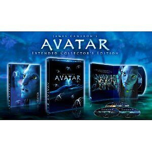 AVATAR (Extended Blu-Ray Collector's Edition 3 Disc Set + Bonus Features) NEW