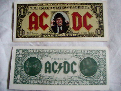 Very Rare AC/DC  Angus Buck From the 1990 Tour