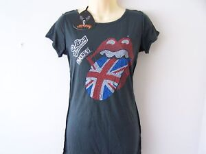 NEW-AMPLIFIED-ROLLING-STONES-U-JACK-T-SHIRT-GREY-S