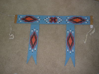 Sioux Dance Belt with side tabs-Fantastic Bead Work