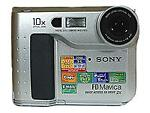Sony Mavica MVC FD75 0.4 MP Digital Camera - Metallic silver