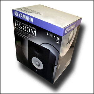 Yamaha-HS80M-Powered-2-way-Studio-Monitor-8-Woofer-and-1-Tweeter-BRAND-NEW