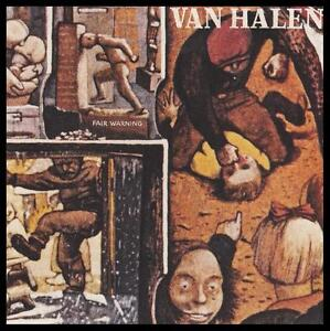 VAN-HALEN-FAIR-WARNING-D-Remastered-CD-DAVID-LEE-ROTH-EDDIE-80s-NEW