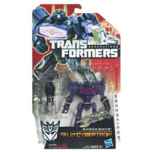 hasbro transformers generations deluxe shockwave fall of