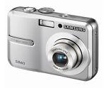 Samsung S860 8.1 MP Digital Camera - Black