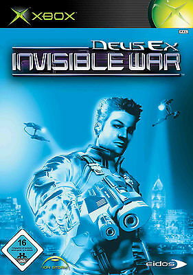 Deus Ex: Invisible War (Xbox, 2004, DVD-Box)
