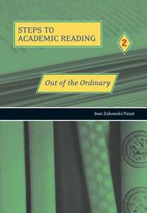 Out-of-the-Ordinary-Refining-Academic-Reading-Skills-R-Zukowski-Very-Good-Bo