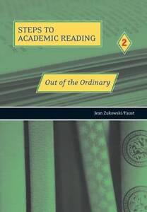 Out-of-the-Ordinary-Refining-Academic-Reading-Skills-R-Zukowski-Very-Good-Bo